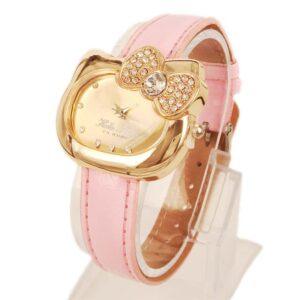 Med rosa armband